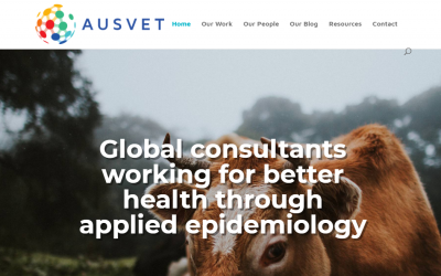 Welcome to Ausvet's new logo and website