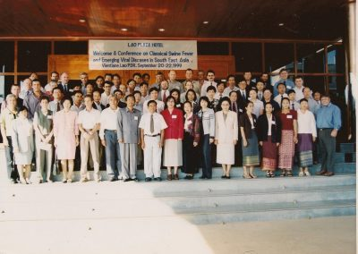 1999 Conference, Vientiane, Lao PDR